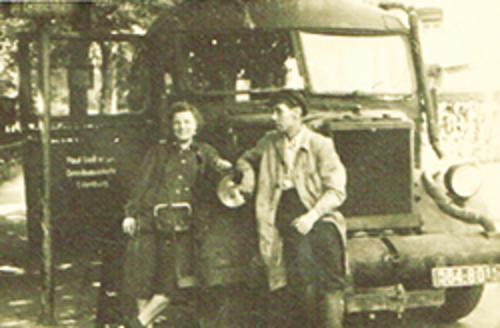 Anfang 50er - Holzvergaser
