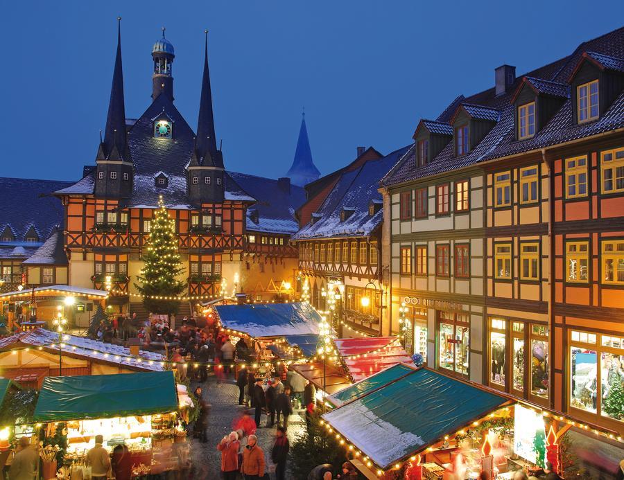 Weihnachtsmarkt Wernigerode In Den Höfen.Strier Reisen