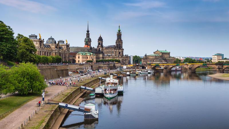 Dresden - mit Sächsischer Schweiz, Moritzburg, Meißen und mehr
