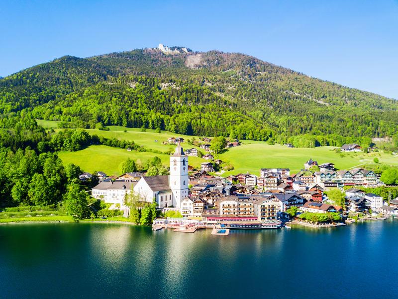 Fuschl im Salzburger Land - Narzissenfest in Bad Aussee
