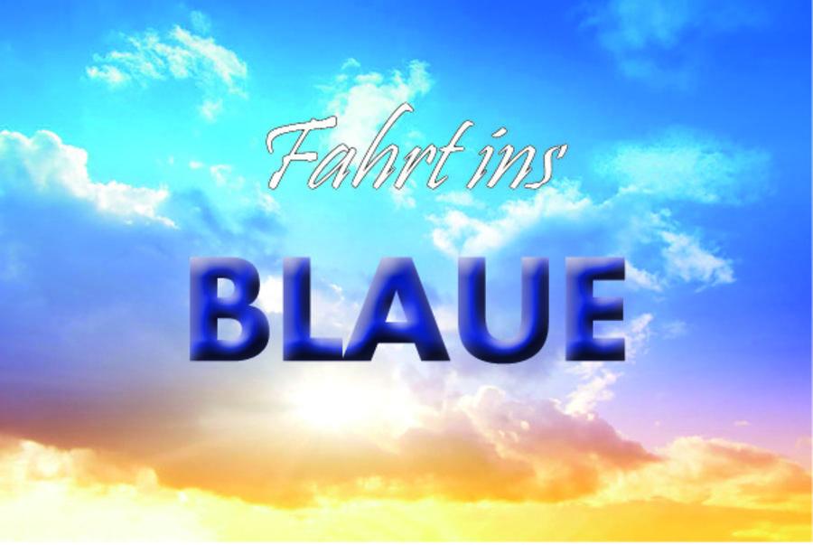 fahrt ins gutschein blaue gedicht: Gedicht gutschein fahrt